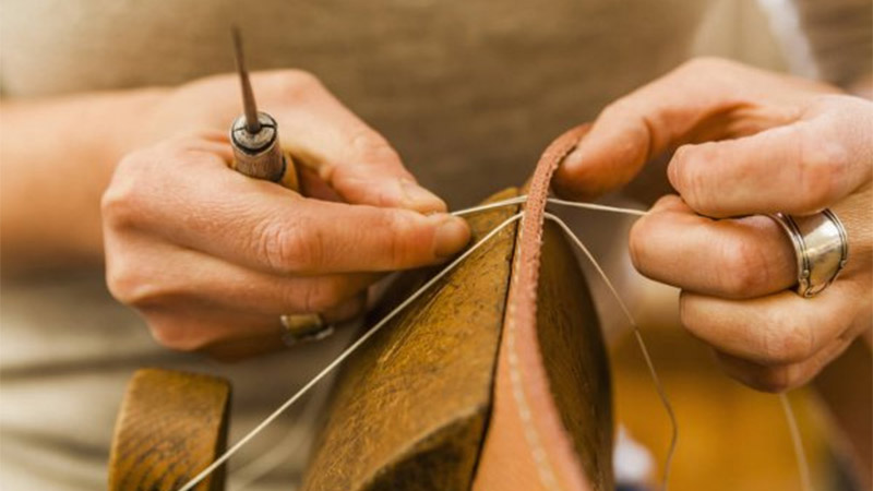 How to Use a Leather Sewing Awl