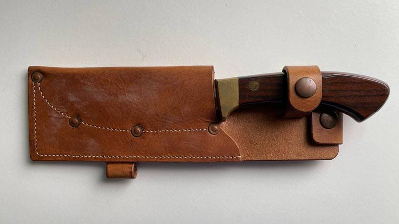 Leather Knife Sheath care guide