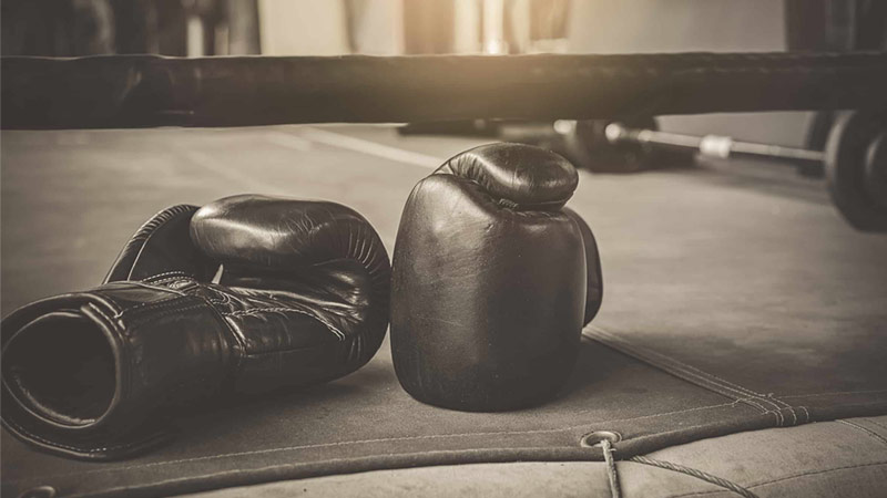 how to clean leather boxing gloves