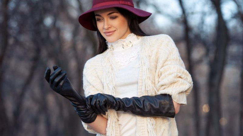 how to soften leather gloves