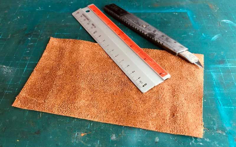 leather tassel earrings cut square